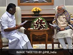 Chief Minister Panneerselvam Thanks PM Narendra Modi For Support To Jallikattu