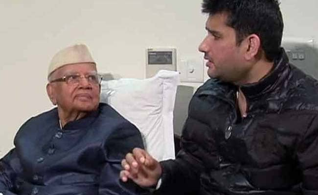 ND Tiwari, 91, Is BJP's Latest Import From Congress; Package Deal Includes Son