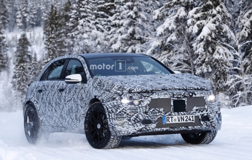 Is This The Next-Gen Mercedes-Benz GLA Crossover?