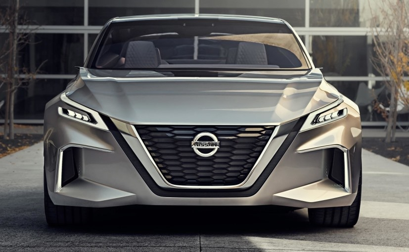 NAIAS: Nissan Vmotion 2.0 concept