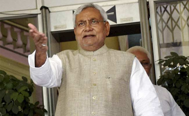 Nitish Kumar's Response After Sidhu Cited Him To Justify Joining Congress