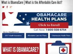 Americans Show Last-Minute Love For Obamacare: Report