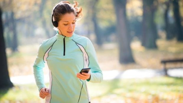 Don't Text or Talk While Exercising, Leave Your Phone at Home