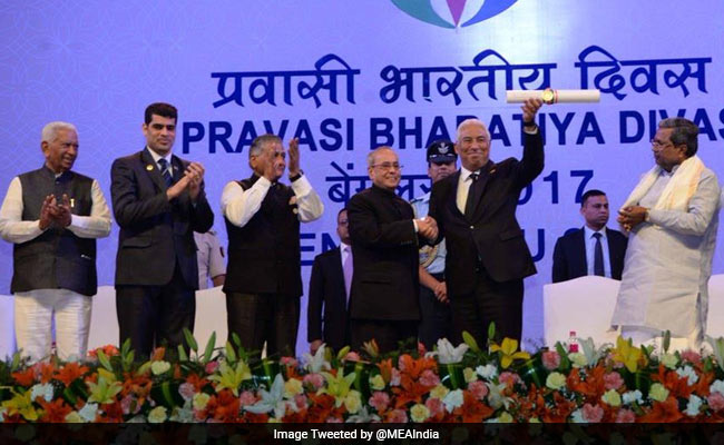 Portugese PM Gets Pravasi Bharatiya Award, NRIs From US Win At Least 6