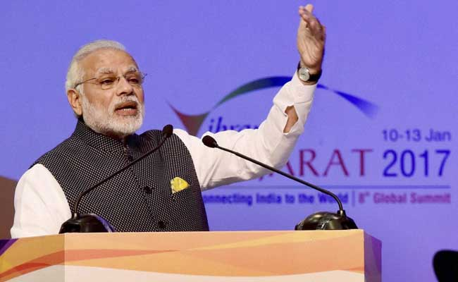 At Vibrant Gujarat Summit, PM Narendra Modi says India World's 6th Largest Manufacturing Country