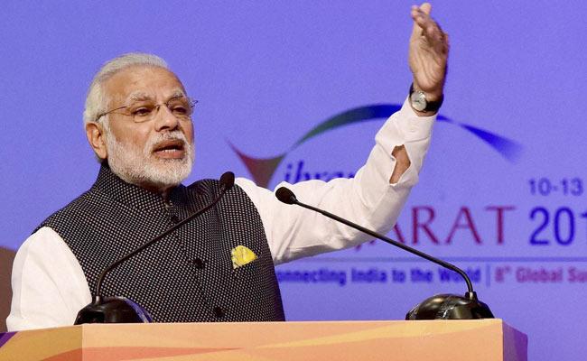 At Vibrant Gujarat Summit, PM Narendra Modi Speaks Of A Digitised India