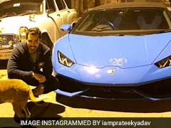 Prateek Yadav Appeared To Dare Feedback On His Lamborghini. BJP Delivers