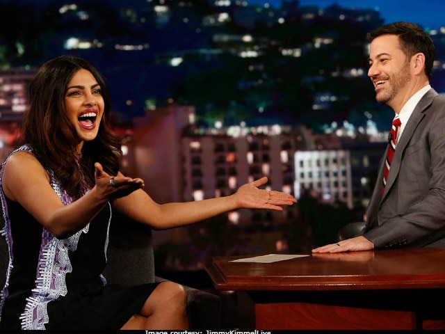 Priyanka Chopra Tells Jimmy Kimmel Quantico Concussion 'Felt Like Grey's Anatomy'