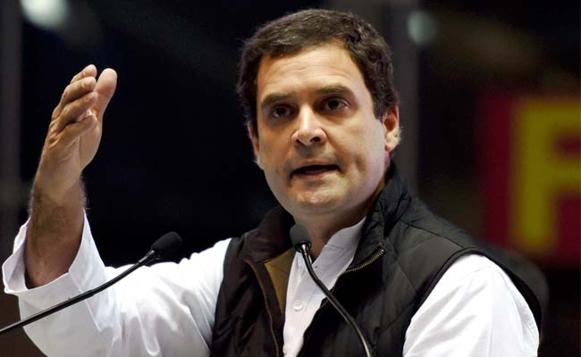 Acche Din When Congress Returns: Rahul Gandhi's Jibe At PM Narendra Modi