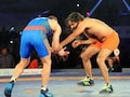 Yoga Guru Ramdev Shows Dhaakad Wrestling Skills In Bout With Olympic Medallist