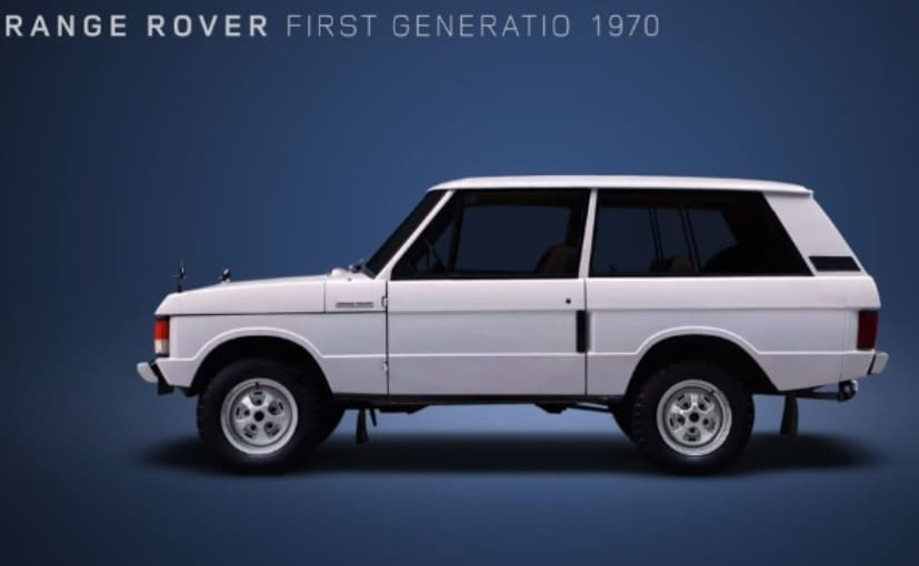 Land Rover Captures 48 Years Of The Range Rover S