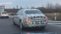 2018 Rolls-Royce Phantom Caught Testing Again