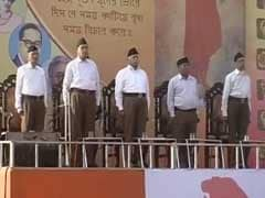 RSS Holds Meet At Kolkata's Brigade Parade Ground For The First Time Ever