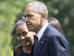Where Was Sasha Obama During Her Father's Farewell Address?