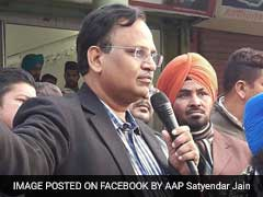 Delhi PWD Minister Satyendar Jain Orders Desilting Of All Drains In Delhi By June 7