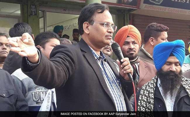 Delhi Minister Satyendar Jain Grilled For 8 Hours By CBI In Money Laundering Case