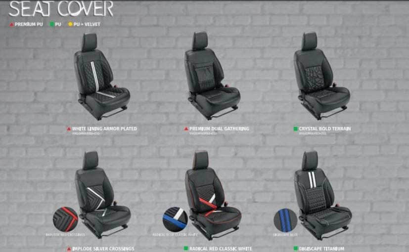 maruti ignis seat cover options