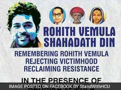 Rohith Vemula Anniversary: Students Plan Shahadat Din; UoH Clamps Restrictions, Outsiders Banned