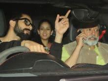 Rangoon Screening: Shahid Steals A Glance At Mira