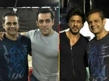 Aha. Shah Rukh Khan Spotted On Sets Of Salman Khan's Tubelight