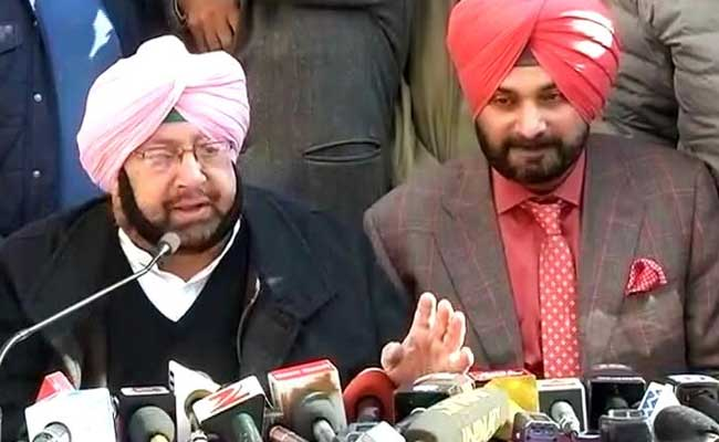 If Sidhu Does TV, Ministry Must Change: Chief Minister Amarinder Singh