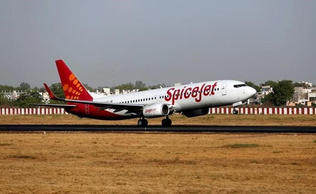 SpiceJet reported operating revenue of Rs 1,642.4 crore.