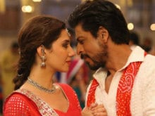 <I>Raees</i> Song <I>Udi Udi Jaye</i>: In Which Shah Rukh Khan, Mahira Fly Kites, Dance The <I>Garba</i>
