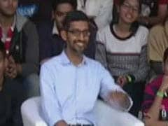 IIT Food? Oops. Sundar Pichai Bravely Offers Diplomatic Response