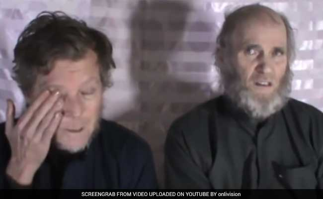 US, Australian Hostages Appear In Afghan Taliban Video