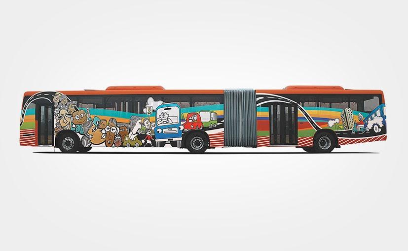 tata motors bus