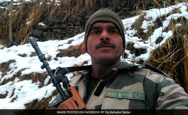 Indian soldier complains of working on empty stomach in viral video