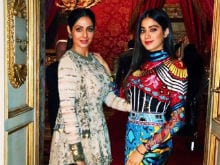 Style Check From Sridevi And Daughter Jhanvi Kapoor. See Pics