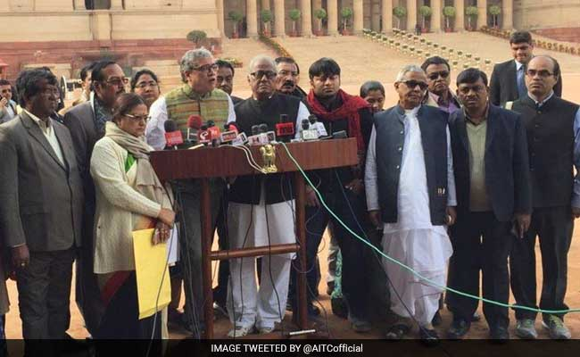 Trinamool Lawmakers Meet President Mukherjee, Term Notes Ban As 'Super Emergency'