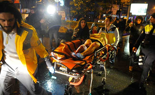 At least 35 dead in armed attack at a nightclub in Istanbul