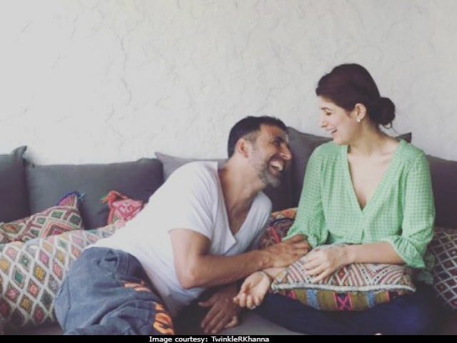 Twinkle Khanna Vs Akshay Kumar In '16 Years Of Trying To Kill Each Other' And Counting