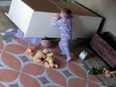 2-Year-Old US Boy Rescues Twin From Under Fallen Dresser
