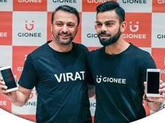 Gionee Signs Virat Kohli As Brand Ambassador