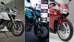 Yamaha FZ25 vs TVS Apache RTR 200 4V vs Honda CBR250R - Spec Comparison
