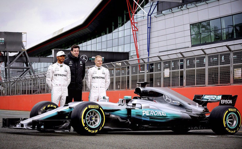 Mercedes-AMG Petronas launches 2017 F1 auto at Silverstone