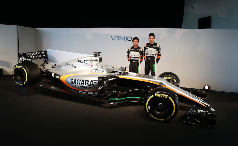 Force India F1 team launches VJM10 for 2017 Formula 1 season