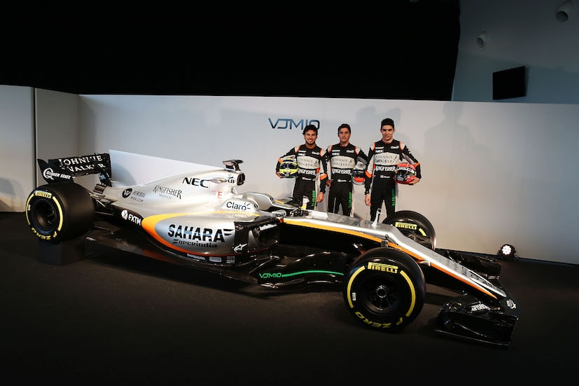 Sahara Force India Reveals The 2017 Formula 1 Race Car: VJM10