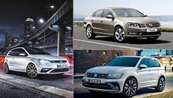 Volkswagen India Announces Its Vehicle Line-up For 2017