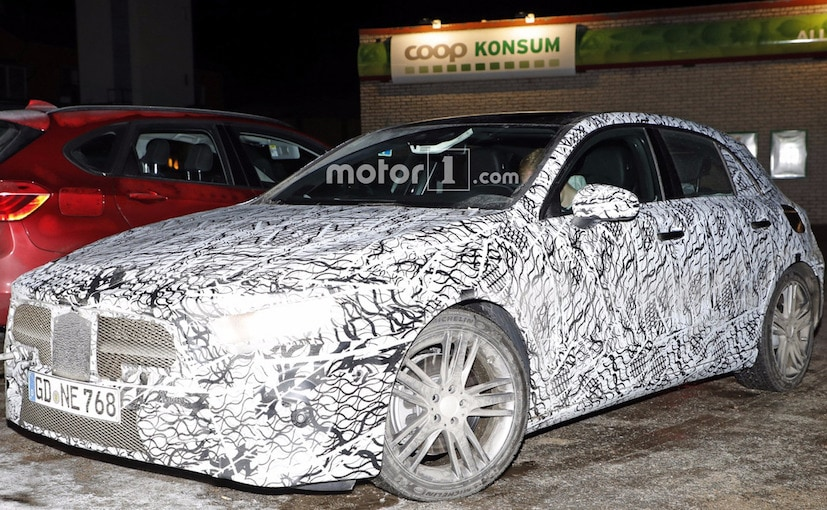 4th Generation Mercedes-Benz A-Class Interior Spotted For The First Time