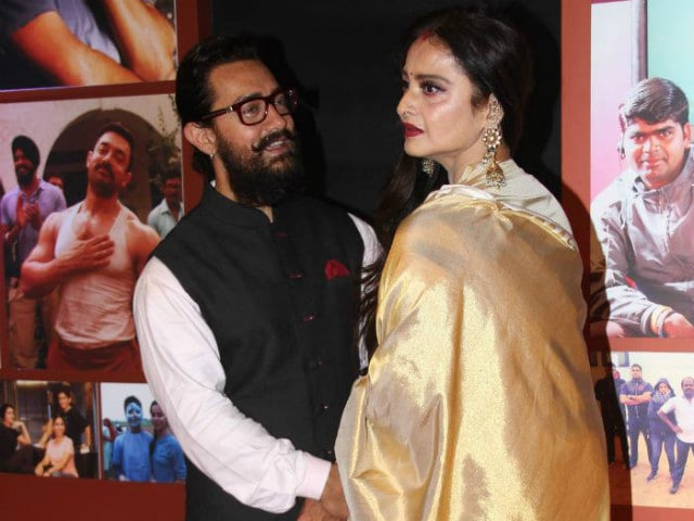 Rekha Wrote Aamir Khan A Letter About Dangal And Made Him Cry