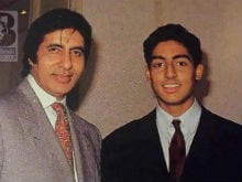 Amitabh Bachchan, In Heart-Warming Pic Shared By Son Abhishek