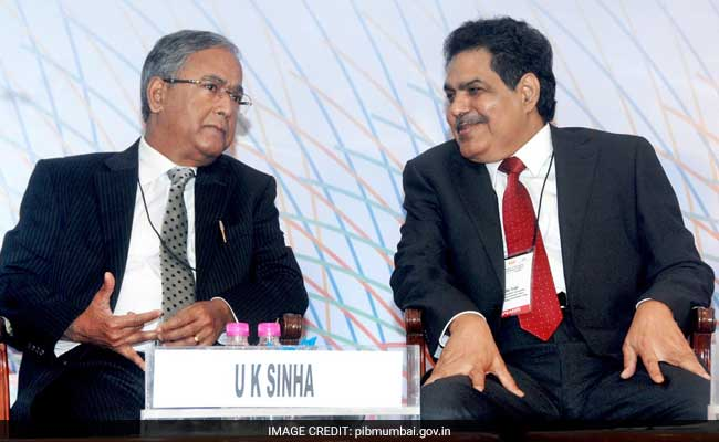 Mr Tyagi (right) will take over as Sebi chief after the tenure of UK Sinha ends on March 1.