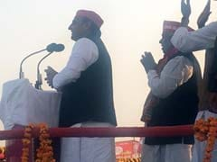 The Rally At Which Akhilesh Yadav Debuted 'Donkeys Of Gujarat' Jibe