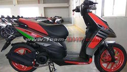 Aprilia SR150 Race Edition Spied Undisguised Ahead Of Launch