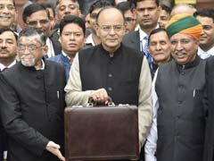 Budget 2017-18: Finance Minister Arun Jaitley Cuts Income Tax Rates To Soften Notes Ban Blow
