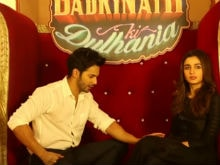 <i>Badrinath Ki Dulhania</I>, The Only Film Varun Dhawan 'Hasn't Touched The Heroine' Alia Bhatt